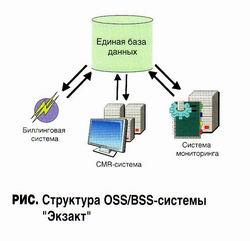 Экзакт - информационная система, упрощённая структура