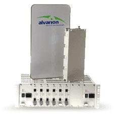 Alvarion BreezeAccessVL. Модульная базовая станция на основе шасси.